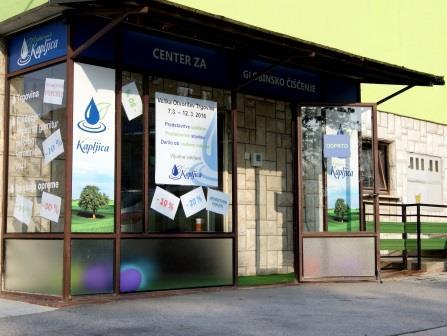 center za globinsko čiščenje Kapljica - Ljubljana