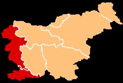 Čistilni servis Nova Gorica - področje