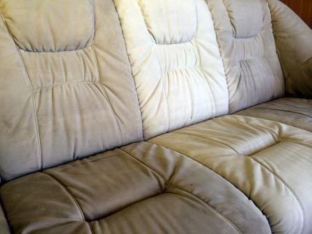 Globinsko čiščenje - impregnacija tkanine in mikrovlaken