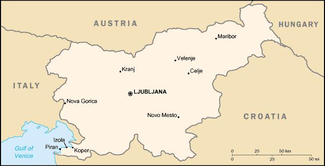 globinsko čiščenje slovenija - področje