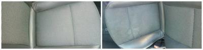 Pred in Po Globinskem čiščenju vozila