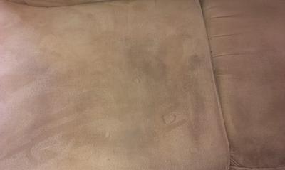 Sedežna garnitura PRED globinskim čiščenjem - blizu
